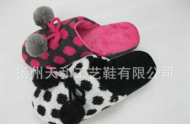 开司米原点拖鞋  室内鞋   七星瓢虫拖鞋