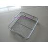 供應醫療器械托盤 編織網狀消毒托盤 醫用網筐網籃 河北DIN器械托