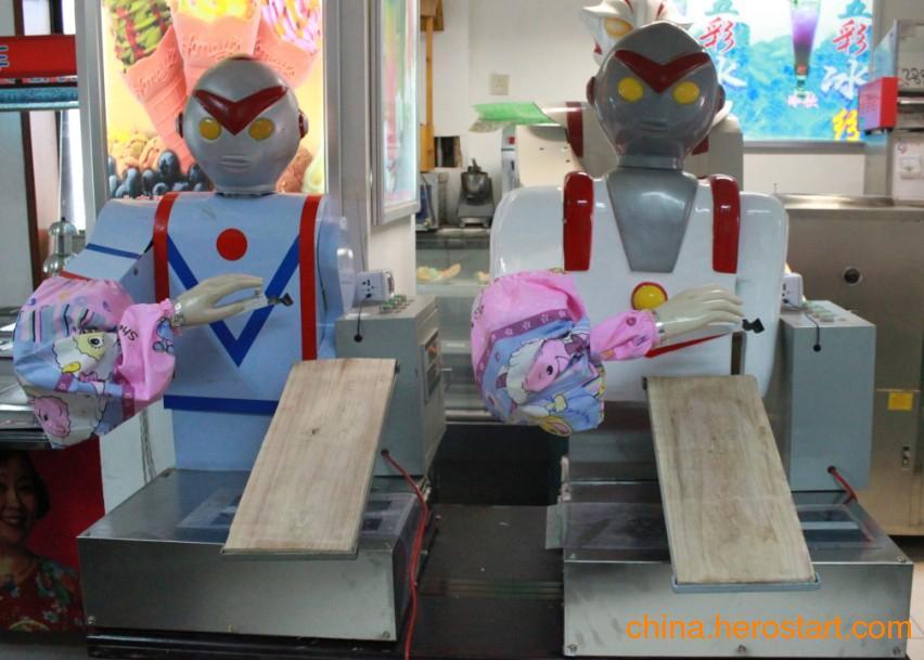 供应奥特曼刀削面机器人厂家 北京奥特曼刀削面机器人 崔师傅刀削面机器人厂家 机器人刀削面机价格 刀削面机器人厂家