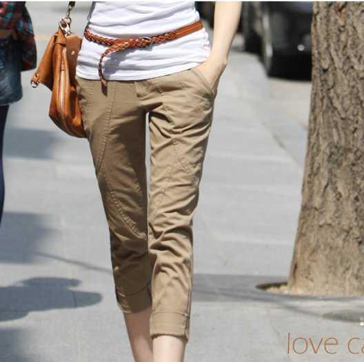 【飞海伦】现货库存韩版新款夏装 风格时尚修身显瘦女装短裤126