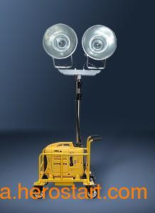 供应SXT2000A 便携式升降应急投光灯-海洋王金卤灯应急照明