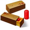 供应高档茶叶盒,木质喷漆茶叶盒