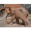 供应石雕大象、石头大象、辽宁大象、石雕招财大象