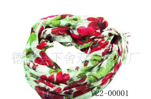 供应围巾 头巾 方巾 沙滩巾 真丝围巾(图)