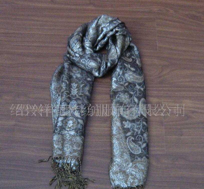 厂家直销各种材质不同尺寸的色织围巾披肩