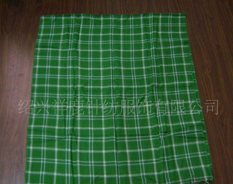 厂家直销色织围巾