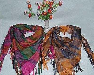 厂家外贸出口 来样定做 金典豹纹  时尚色织围巾