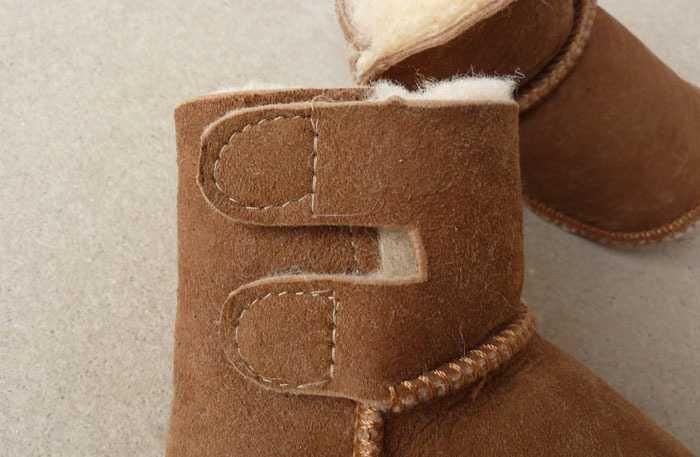 厂家直销皮毛一体童鞋 宝宝鞋 婴儿鞋 雪地靴 双魔术贴 童鞋批发