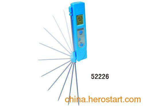 供应【测温仪】双温度红外线/探头测温仪