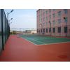 供应承建塑胶篮球场,建造硅PU网球场,建设塑胶跑道,球场围网