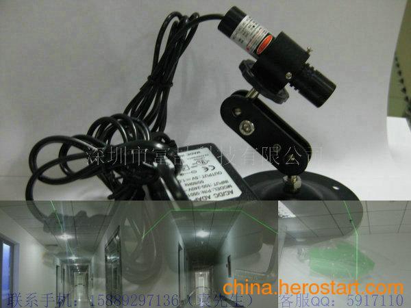 供应绿激光定位灯 绿光一字线激光笔激光器 胶合板锯边用一字红外线灯