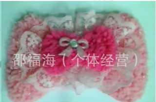 厂家直销 批发供应绒布高档成人儿童领花领结 蝴蝶结领结