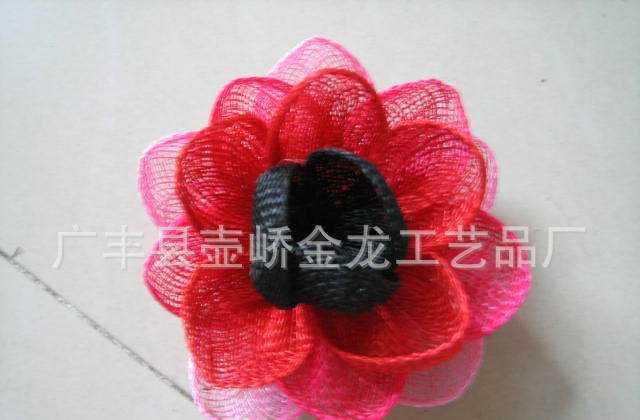 厂家特价供应麻布花、麻帽等产品
