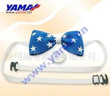 供应领结 蓝色领结 印星星领结 儿童领结