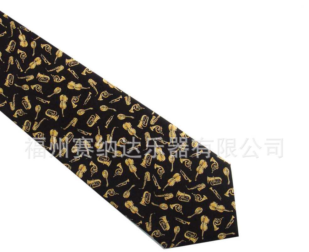 真丝领带/音符领带/五线谱领带/音乐礼品
