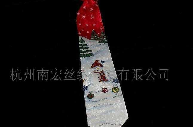 供应真丝印花领带
