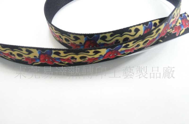【促销礼品】热转印时尚织布腰带/腰带印花加工