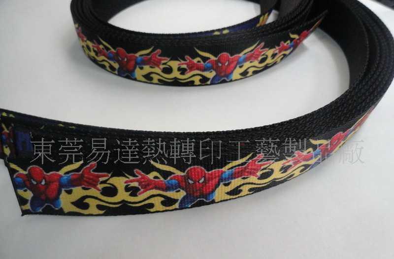 【皮带】热转印时尚织布腰带/腰带印花加工