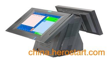 供应双屏前台收银机PS30/电脑POS一体机/触摸屏收银机/前台高档POS机