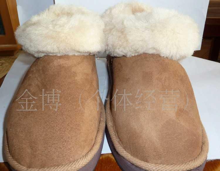 厂家直销羊皮皮毛一体雪地靴  男 雪地靴批发  雪地靴保暖鞋