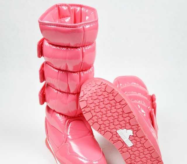 Rubber Duck橡皮鸭正品三扣高筒雪地靴 防水 防滑 高筒雪地鞋