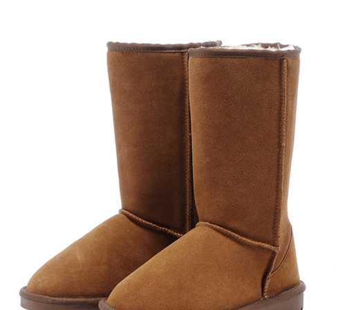 正品真皮羊毛雪地靴高筒长靴5815雪地靴