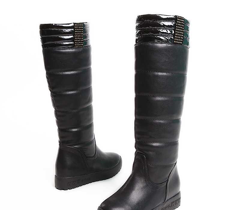 雪地靴 羊羔毛雪地靴 高筒羊羔毛雪地靴 休闲高筒羊羔毛雪地靴