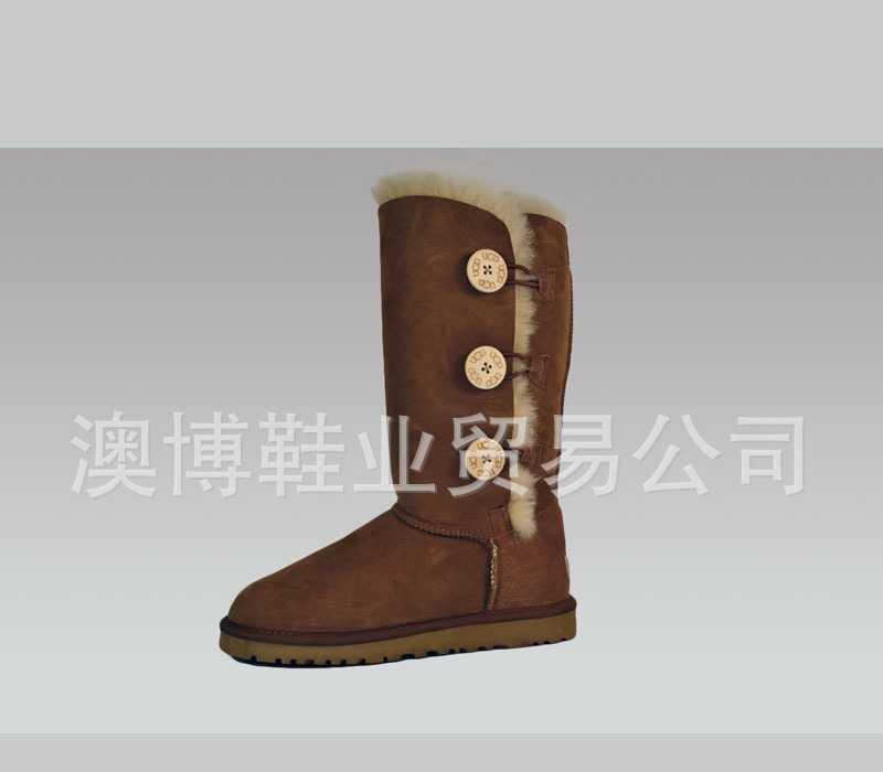 皮毛一体鞋 UGG 1873 女鞋 高筒雪地靴 2012最新防伪 雪靴