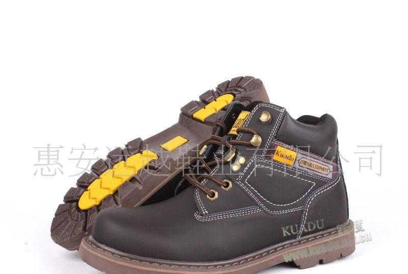 KUADU|二层牛皮钢包头|工作鞋|劳保鞋|厂家直销