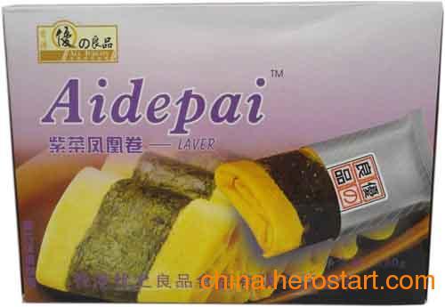 供应紫菜素肉凤凰卷 进口食品批发 一米派进口食品批发网