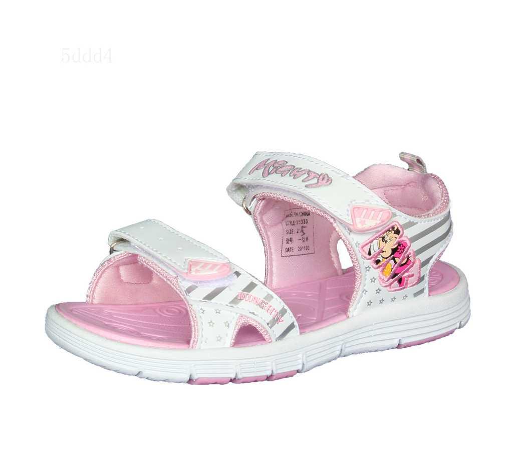 正品牌 MIGHTY MOUSE 大力鼠 女童鞋 18333 沙滩鞋 凉鞋