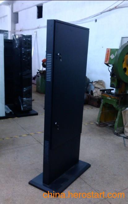 应42 55寸户外防水落地式广告机外壳生产厂家