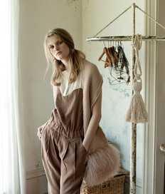日本2011新款 编织款 滩羊毛装饰可爱围巾100%日单