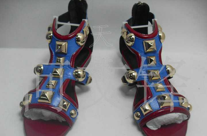 承接订单加工各类真皮女鞋凉鞋2011新款品牌平底坡跟凉鞋
