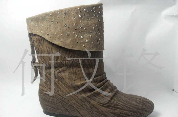 代客加工各类真皮女鞋 内增高女靴子 休闲鞋