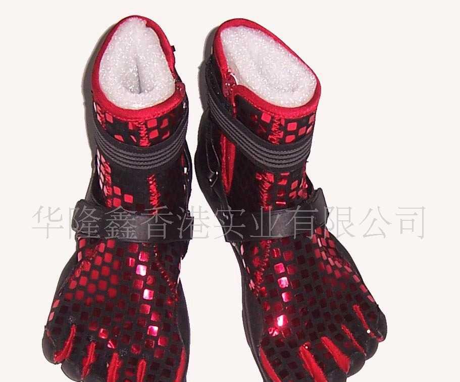 华隆鑫五趾靴舞台鞋hlx90010