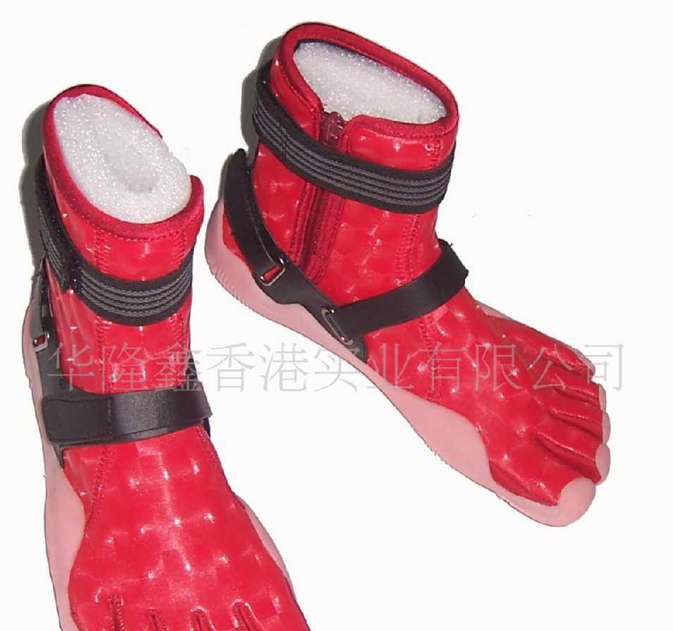 华隆鑫五趾靴90016-舞台鞋
