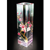 供应西安水晶花瓶 花瓶 水晶桌摆 水晶摆饰