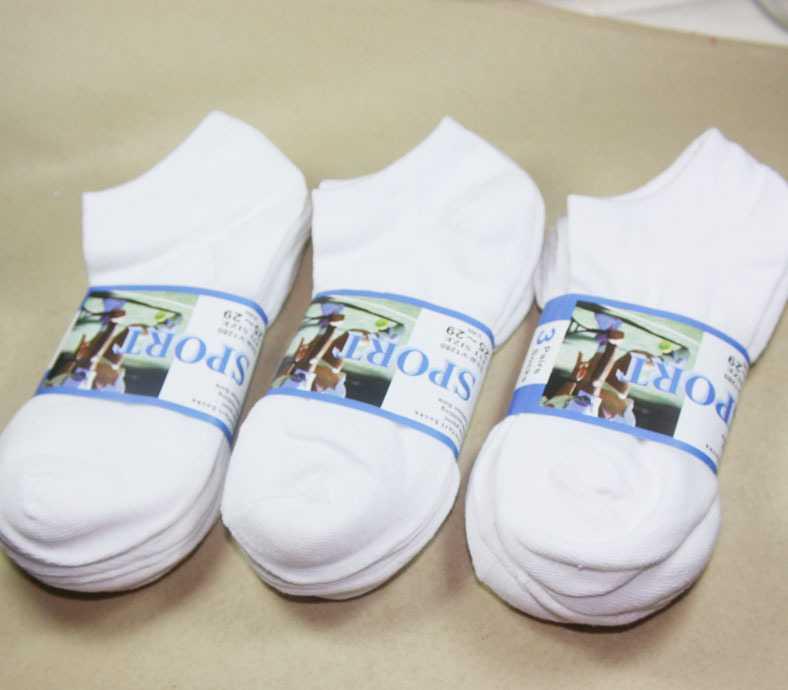 全棉船袜全棉袜女士袜子白色袜子短袜