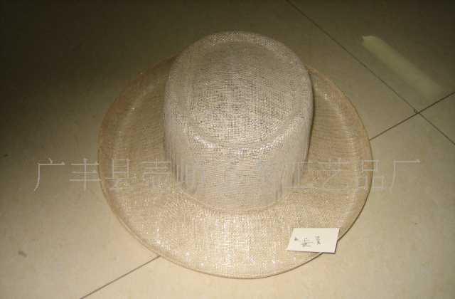 中国麻布产地特供麻帽、剑麻布帽