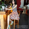 供应厂家直销 夏装新款女装日韩针织裙品牌时尚连衣裙批发tlym8078