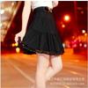 供应新款韩版淑女A字裙大码半身裙子蕾丝花边波西米亚裙子tlym8073