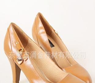 2012新款上市流行时尚商务休闲高档真皮护臭高跟女鞋