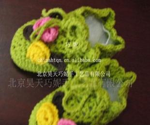 供应手工编织婴儿鞋TX-36