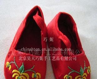 供应纯手工制作婴儿鞋TX-022
