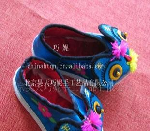 供应工制作虎头鞋TX-025