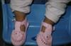 供应2012夏季流行时尚婴儿毛线手工编织鞋子
