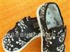 除臭!手工纳底儿童布鞋宝宝学步鞋纯棉千层底古典蜡染片