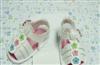 白色PU凉鞋钉花朵,多款供选(厂家直销)