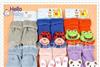 中nissen毛圈袜精梳棉儿童袜卡通毛巾袜动物头玩具袜翻边公仔袜子